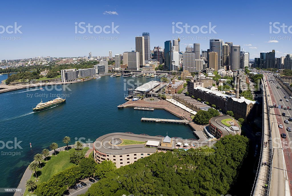 Sydney City Skyline in Australia stock photo