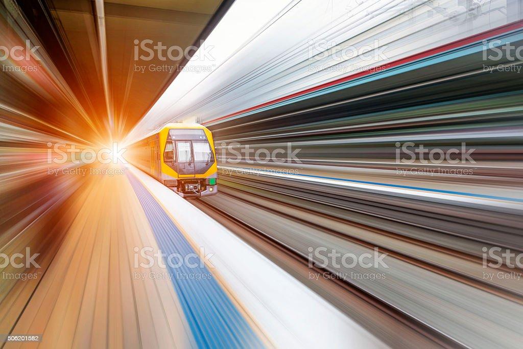 Sydney city traffic stock photo