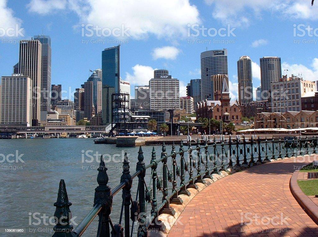 Sydney City View royalty-free stock photo