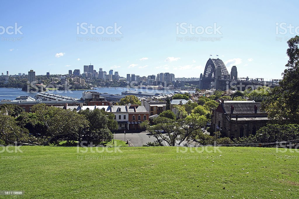 Sydney Cityscape royalty-free stock photo