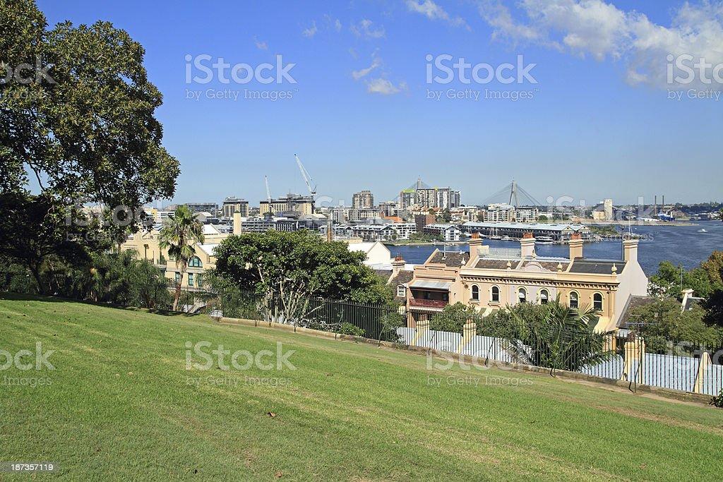 Sydney Cityscape royalty-free stock photo