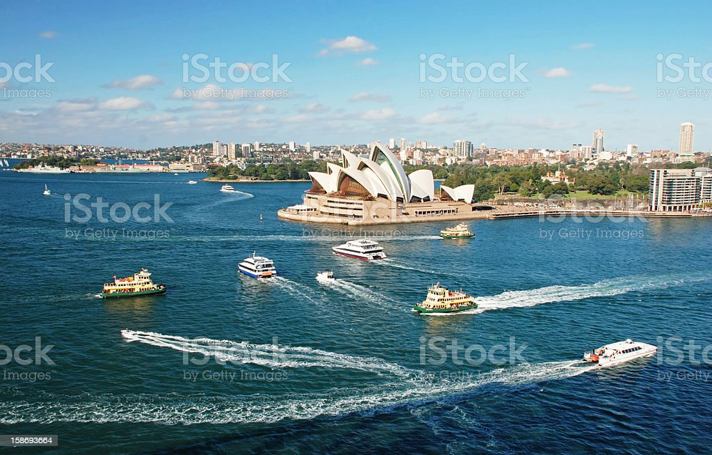 Sydney Cove, Australia royalty-free stock photo