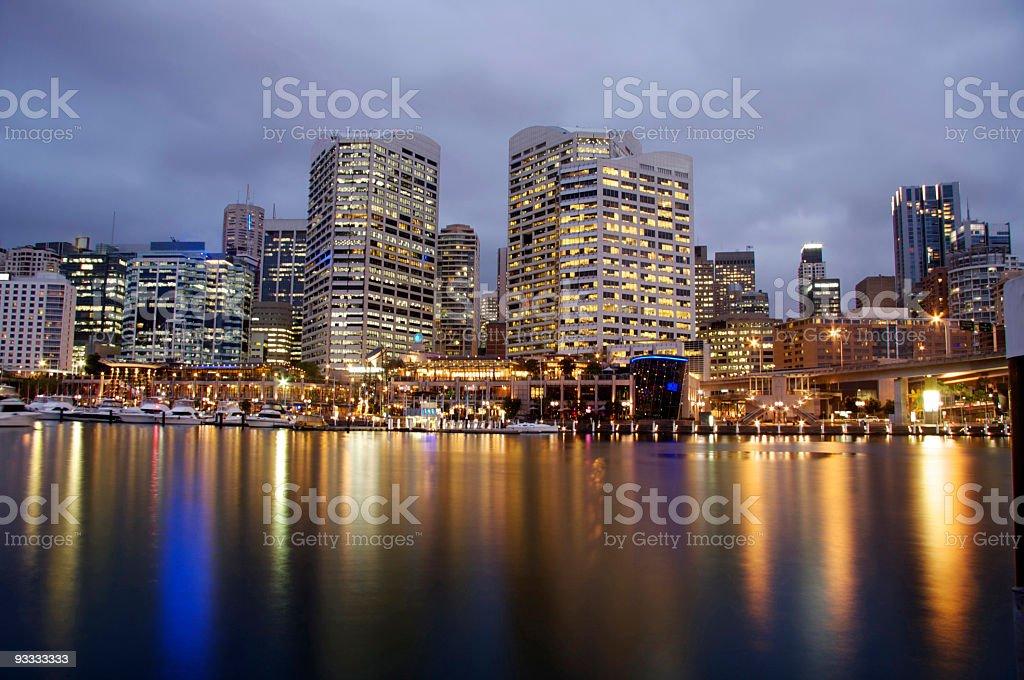 Sydney Darling Harbor royalty-free stock photo