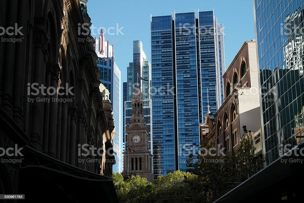 Sydney - downtown stock photo