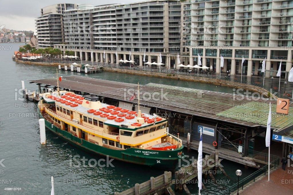 Sydney Ferry royalty-free stock photo