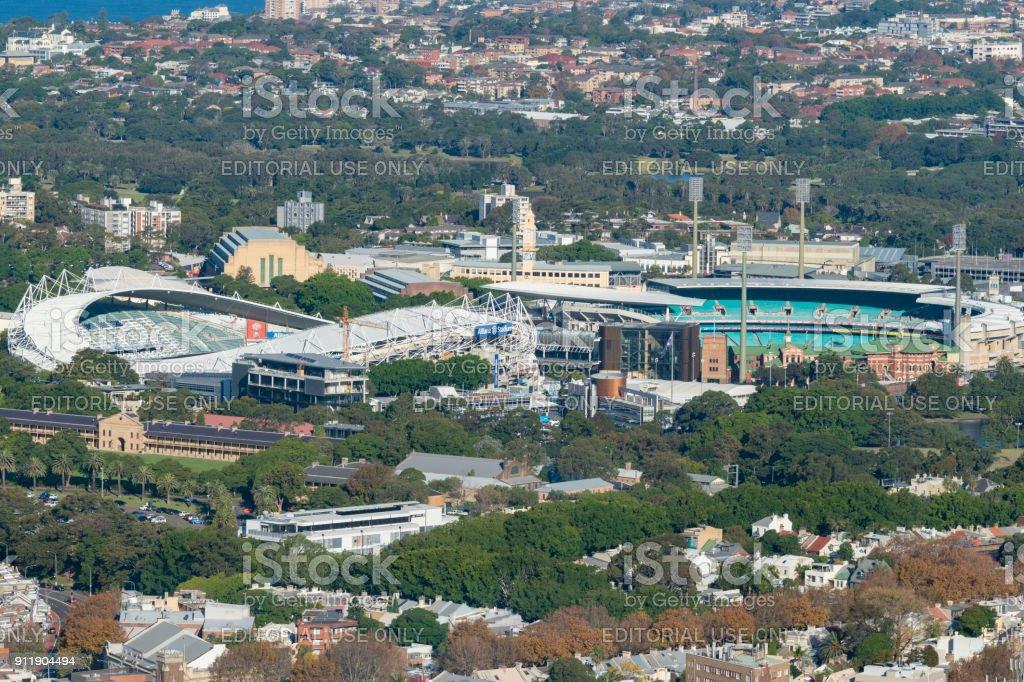 悉尼足球場和悉尼板球場圖像檔