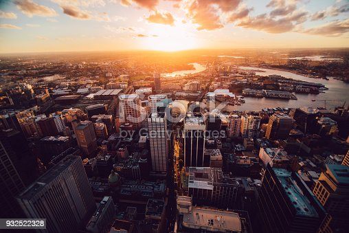 istock Sydney from above 932522328