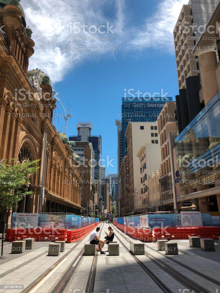 Sydney George Street - Royalty-free Architecture Stock Photo