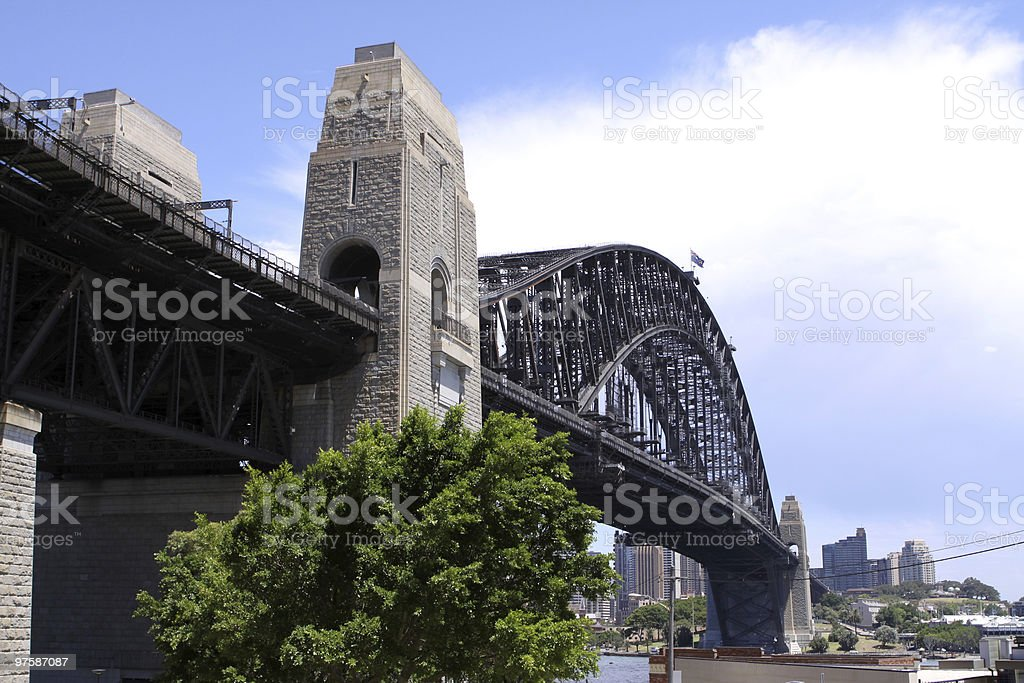 Pont Sydney Harbour Bridge photo libre de droits
