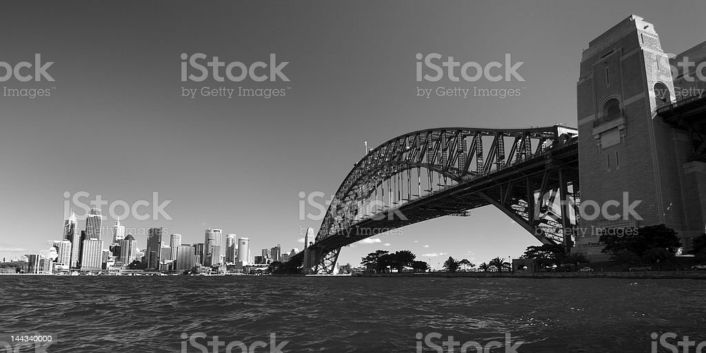Sydney Harbor royalty-free stock photo