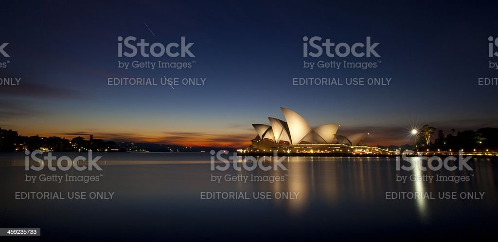 Sydney Harbour At Dawn royalty-free stock photo