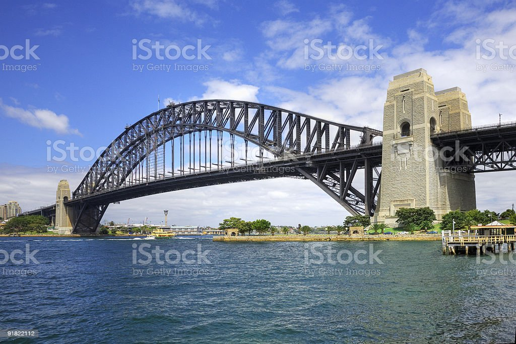 Sydney Harbour Bridge Daylight royalty-free stock photo