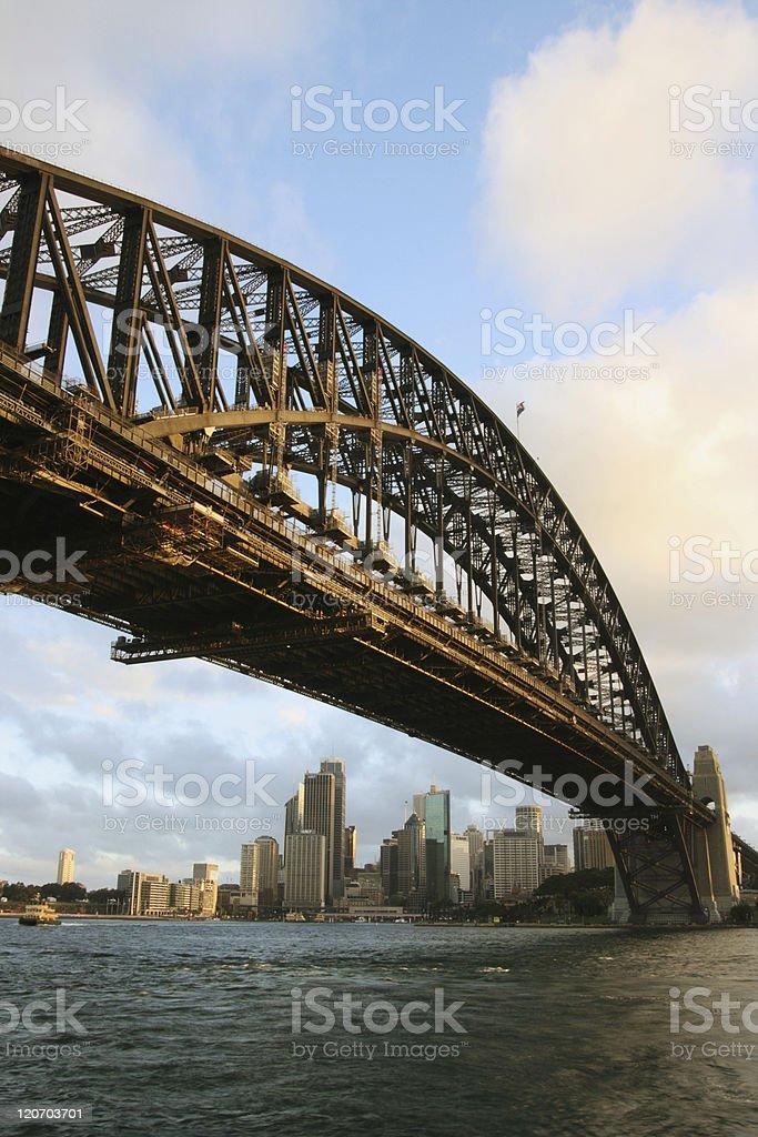 Sydney Harbour Bridge of Australia royalty-free stock photo