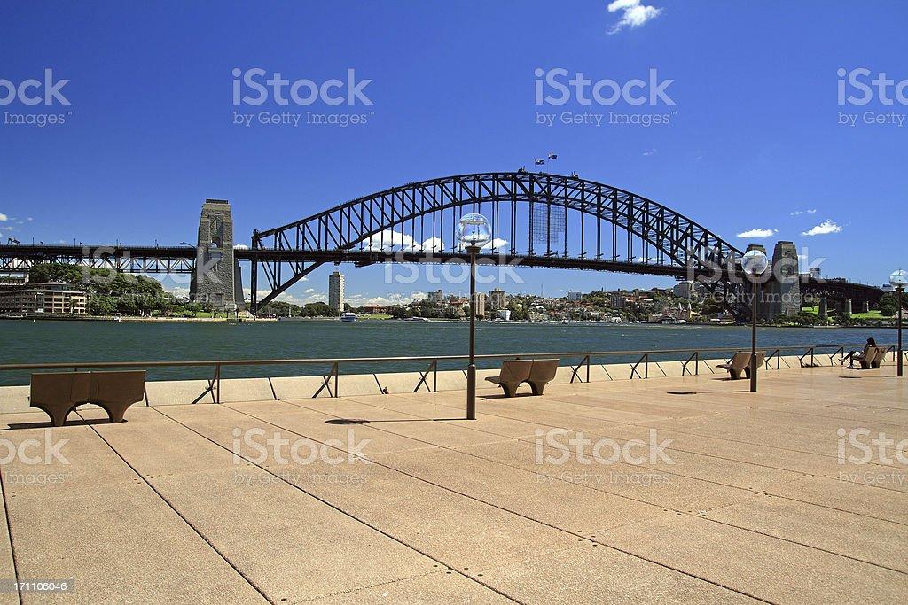 Sydney Harbour Bridge stock photo