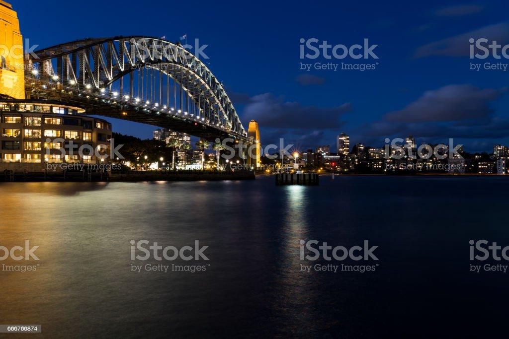 Sydney Harbour Bridge foto stock royalty-free