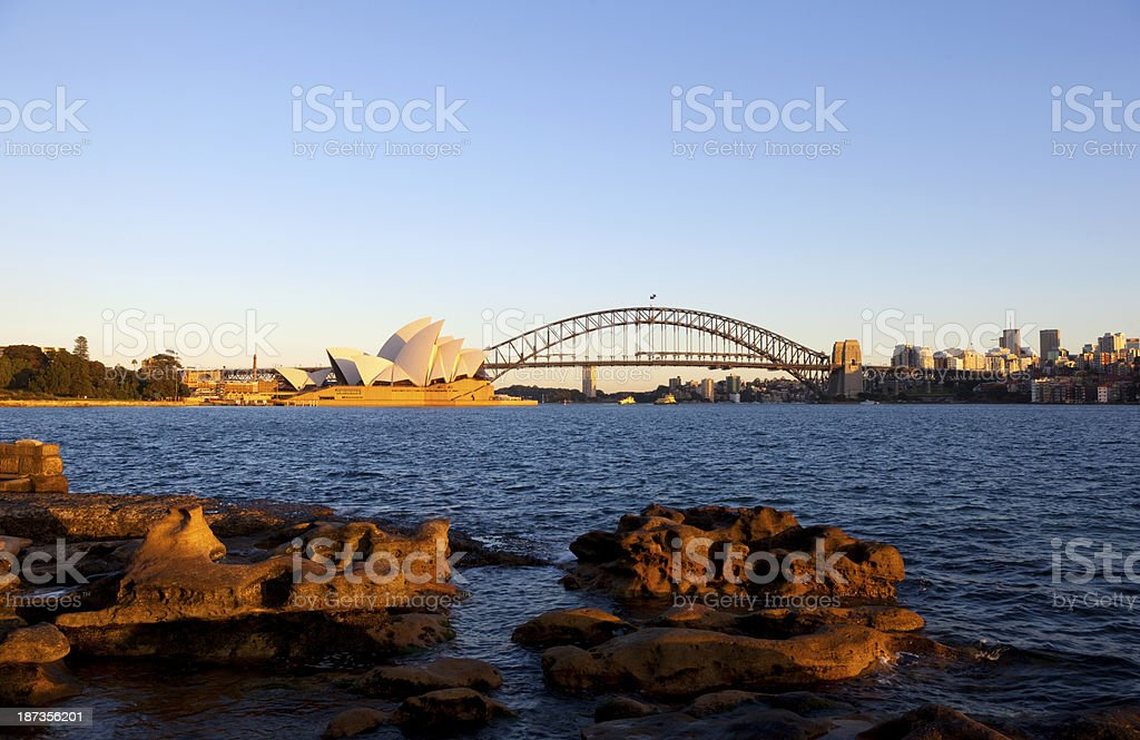 Sydney Harbour Icons royalty-free stock photo