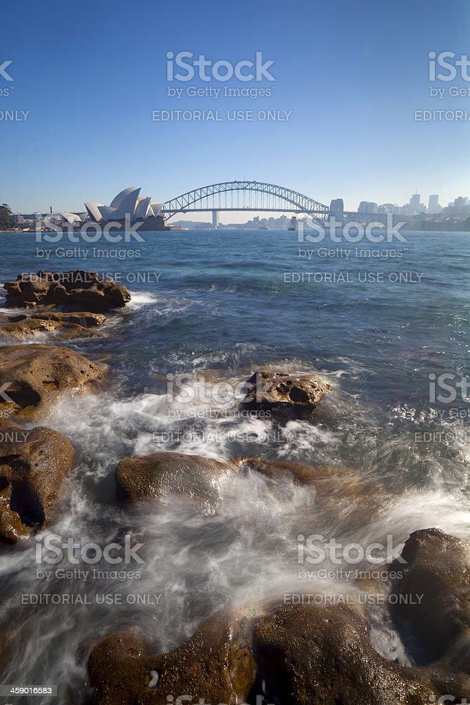 Sydney Harbour Landmarks stock photo