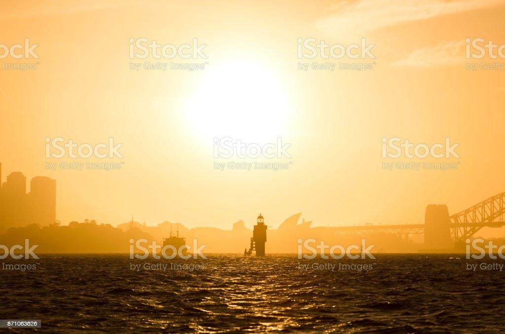 Sydney Harbour stock photo