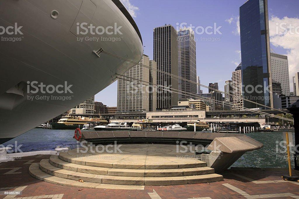 Le port de sydney photo libre de droits