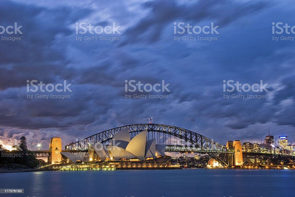 Sydney Harbour - September 2009 stock photo