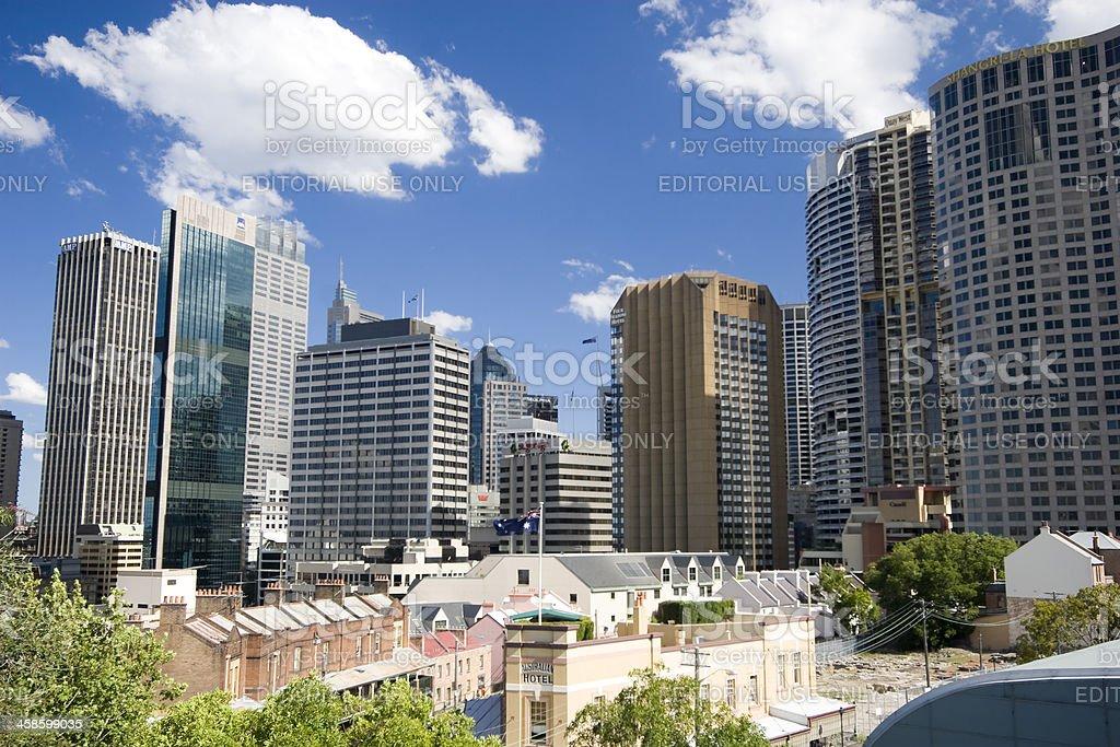 Sydney High Rises stock photo