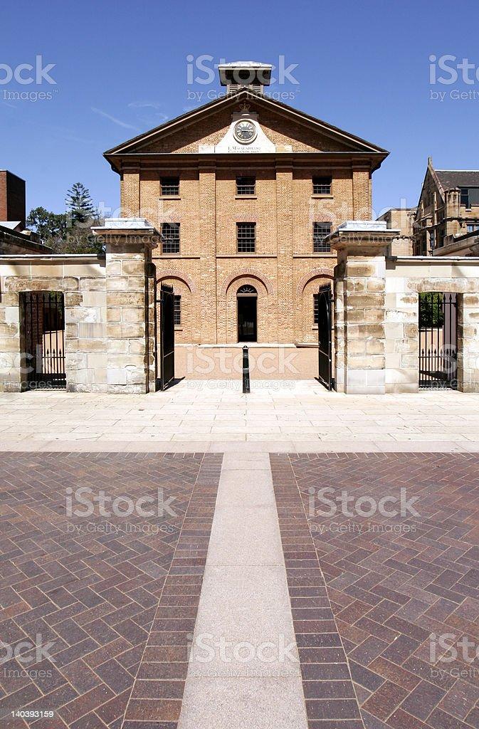 Sydney Hyde Park Barracks stock photo
