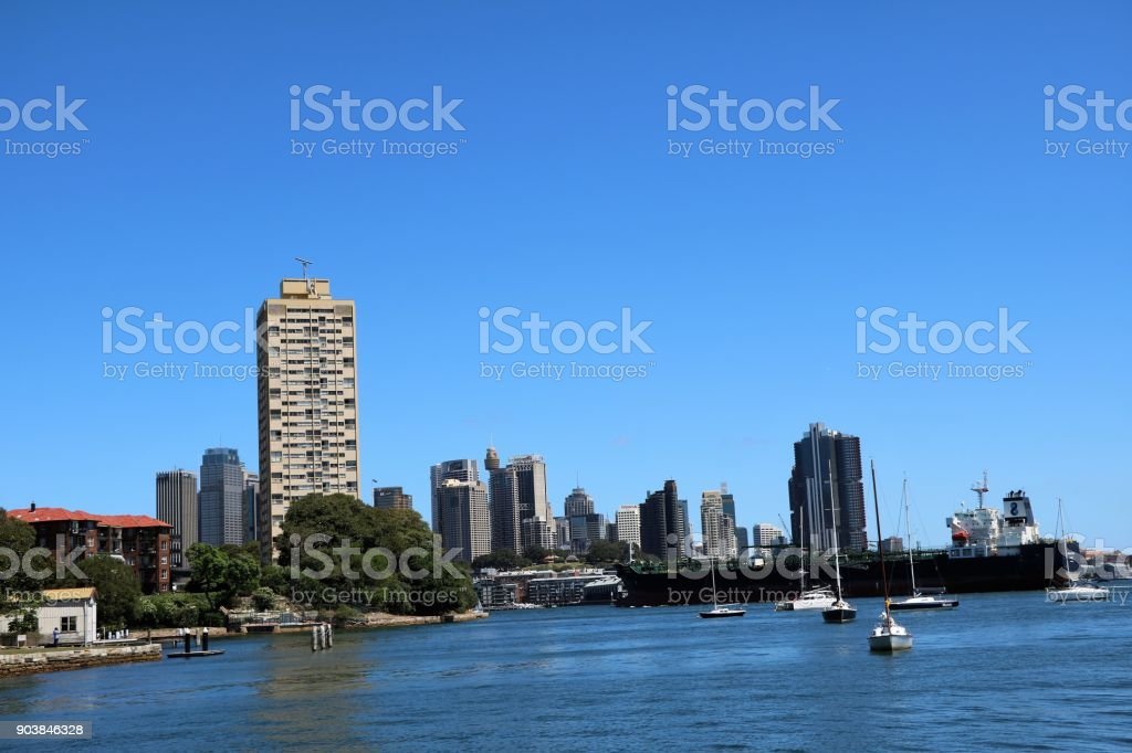 Sydney in summer, New South Wales Australia stock photo