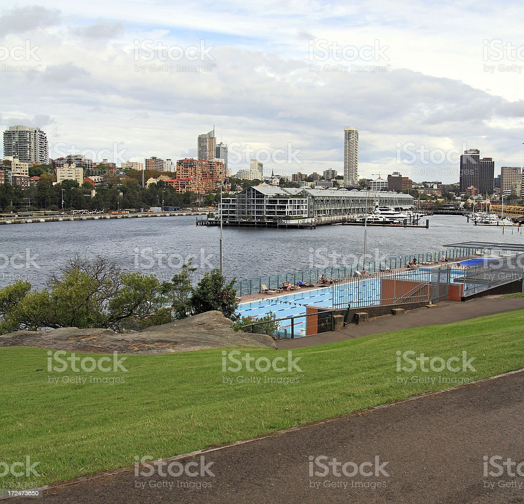 Sydney marina royalty-free stock photo