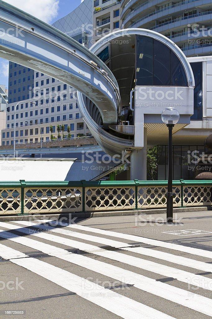 Sydney Monorail royalty-free stock photo