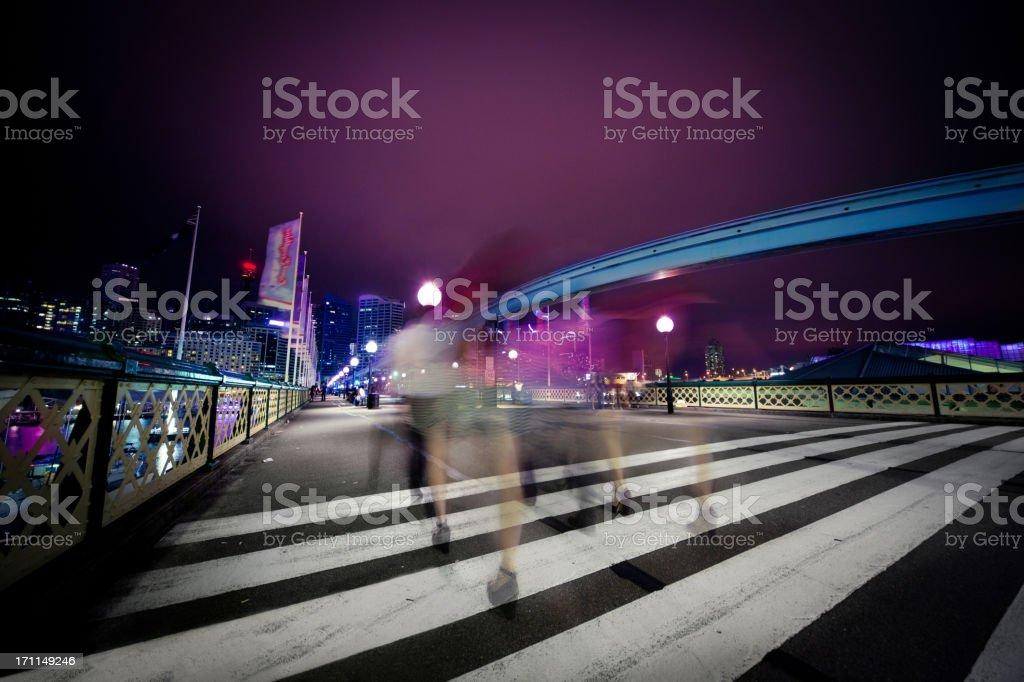 Sydney Nightlife stock photo