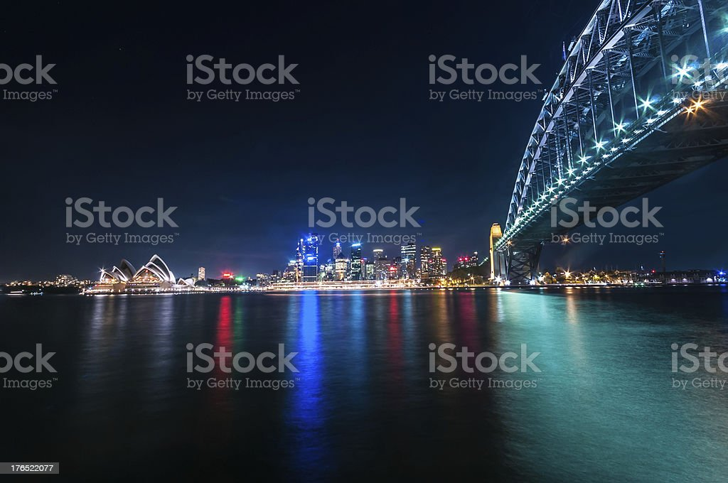 Sydney October 10,2009-Sydney Harbour stock photo