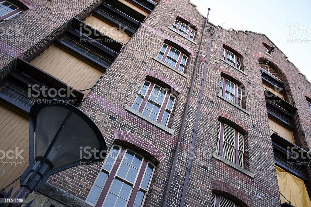 Sydney Old Town royalty-free stock photo