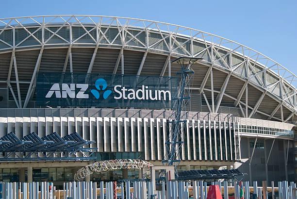 Sydney Olympic Park - ANZ Stadium stock photo