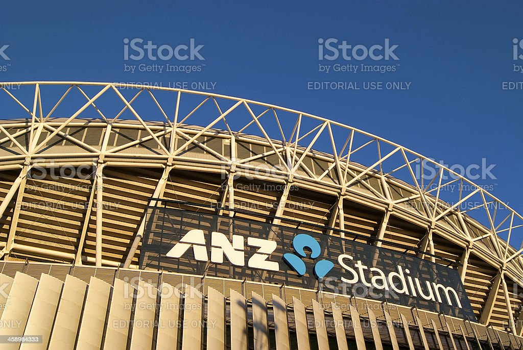 Sydney Olympic Park - ANZ Stadium stock photo