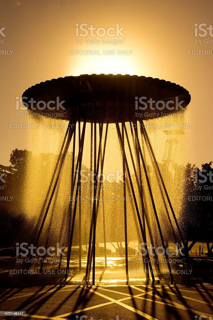 Sydney Olympic Park - Cauldron stock photo