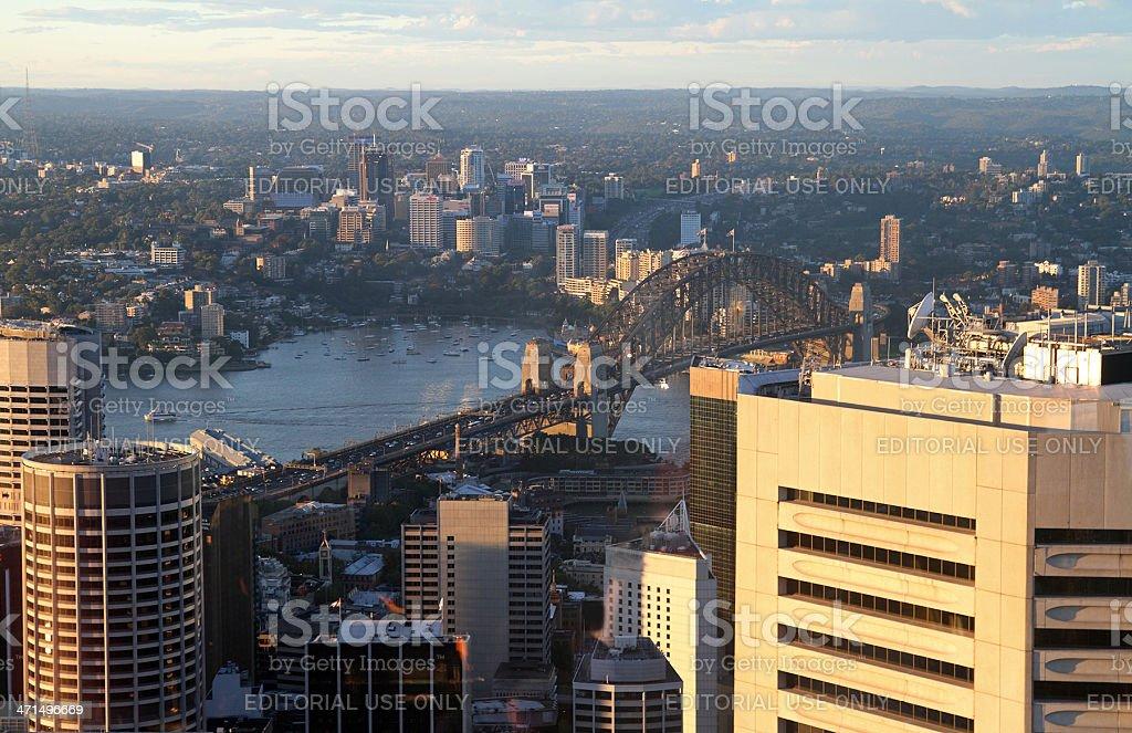 Sydney on sunset royalty-free stock photo