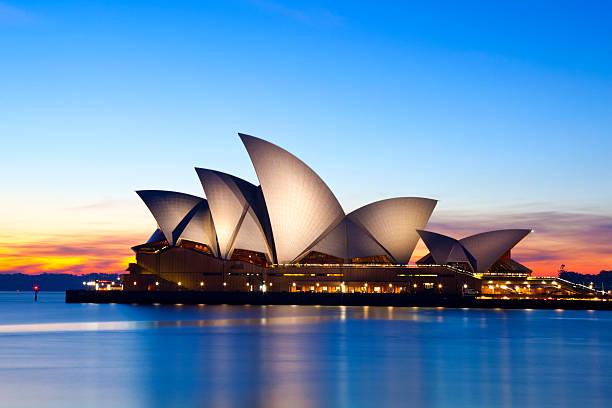 Sydney Opera House Australia stock photo