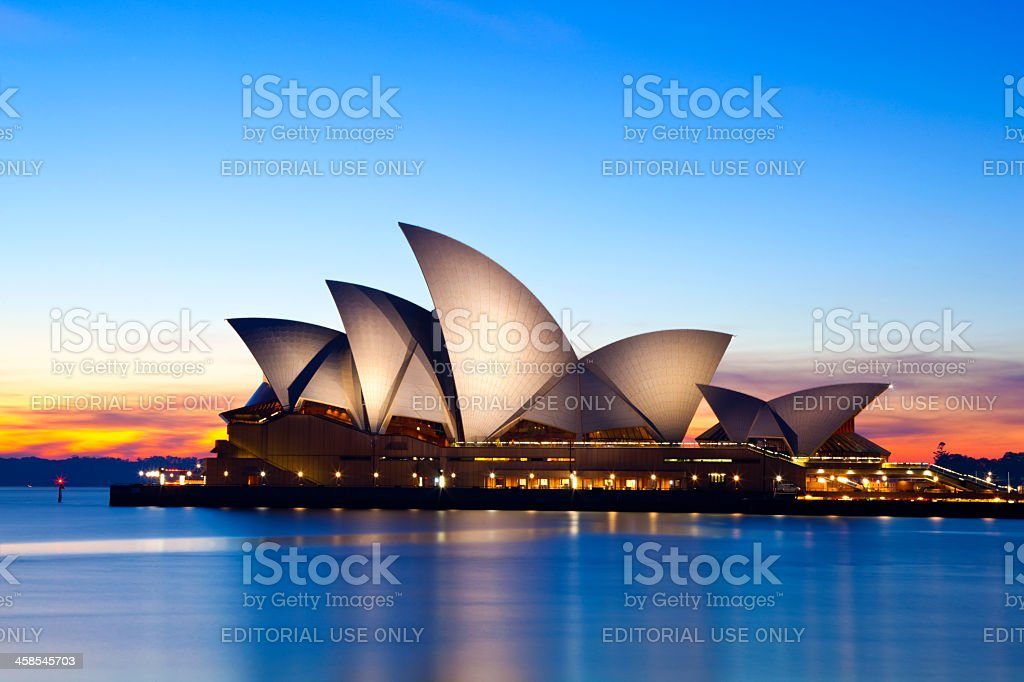 Sydney Opera House Australia stock photo