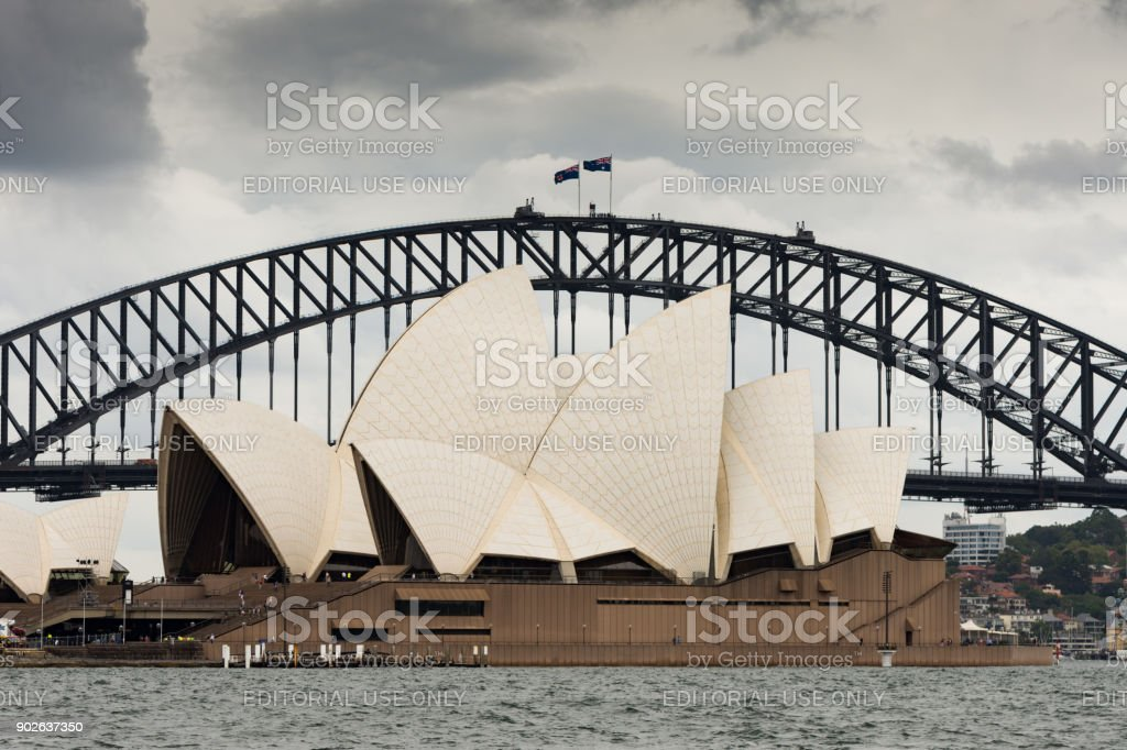 Sydney Opera House, Australia stock photo