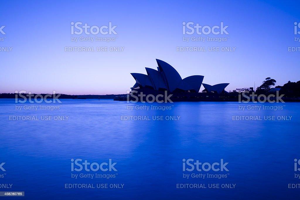 Sydney Opera House Before Dawn royalty-free stock photo