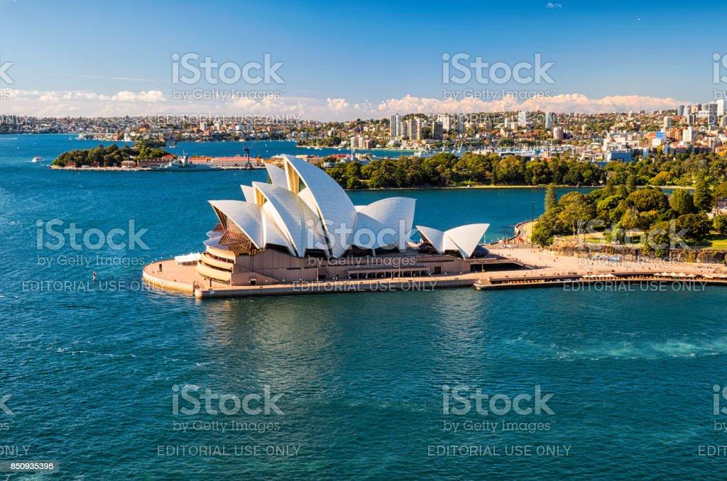 Sydney Opera House In The Sun stock photo