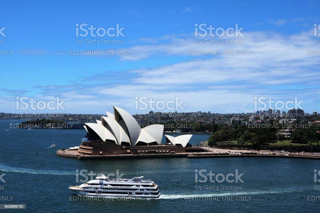 Sydney Opera House, New South Wales Australia stock photo