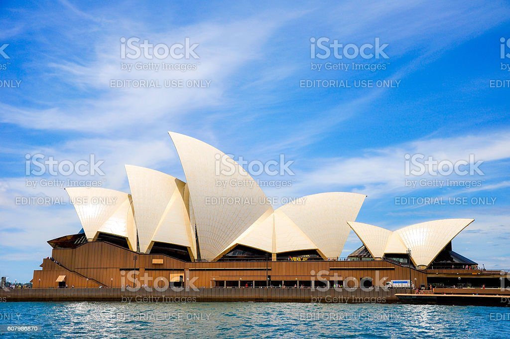 Sydney Opera House, NSW, Australia stock photo