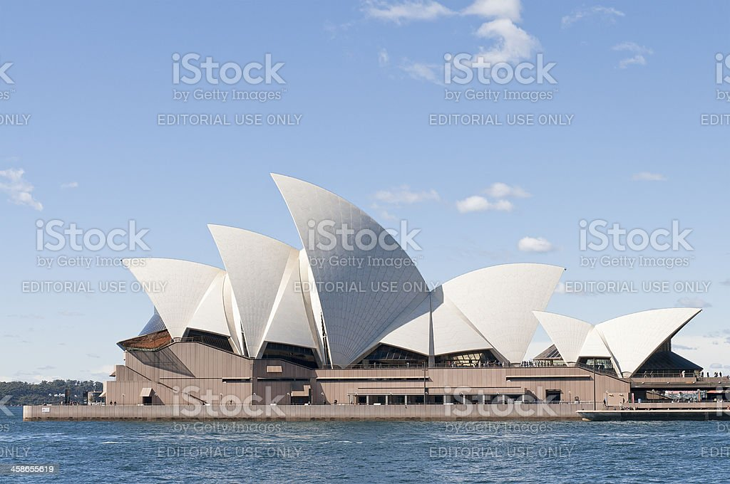 Sydney Opera House royalty-free stock photo