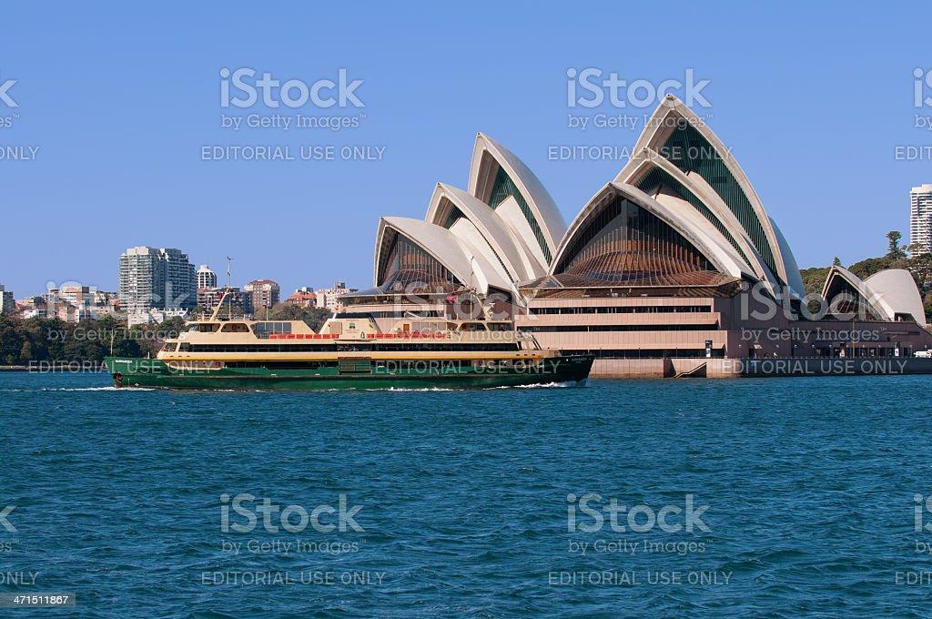 Sydney opera house royalty-free stock photo
