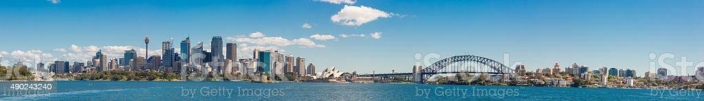 Sydney Panorama stock photo