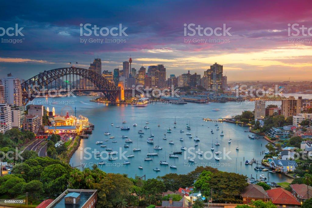 Sydney. foto de stock libre de derechos