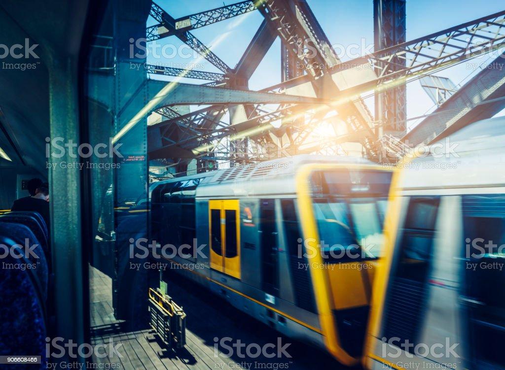Sydney-Schienenverkehr – Foto
