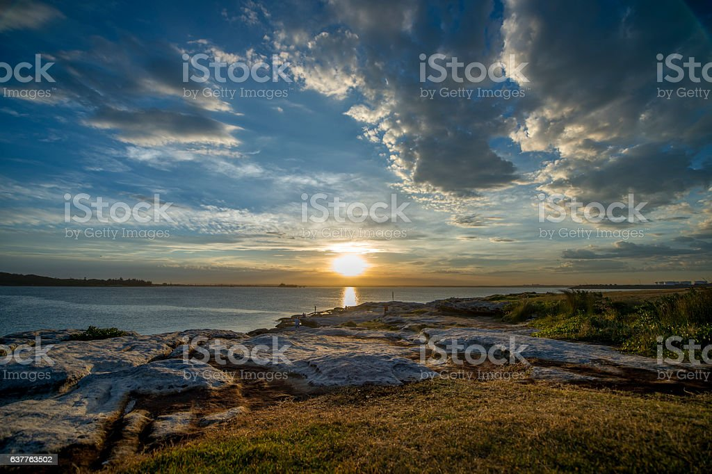Sydney seascape stock photo