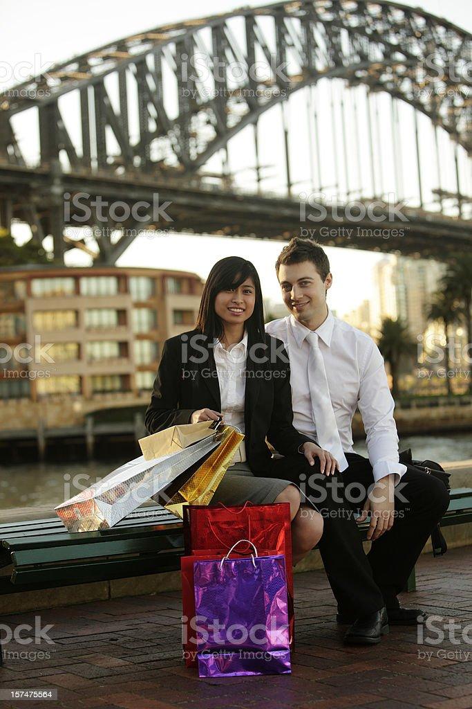 Sydney Shopping royalty-free stock photo